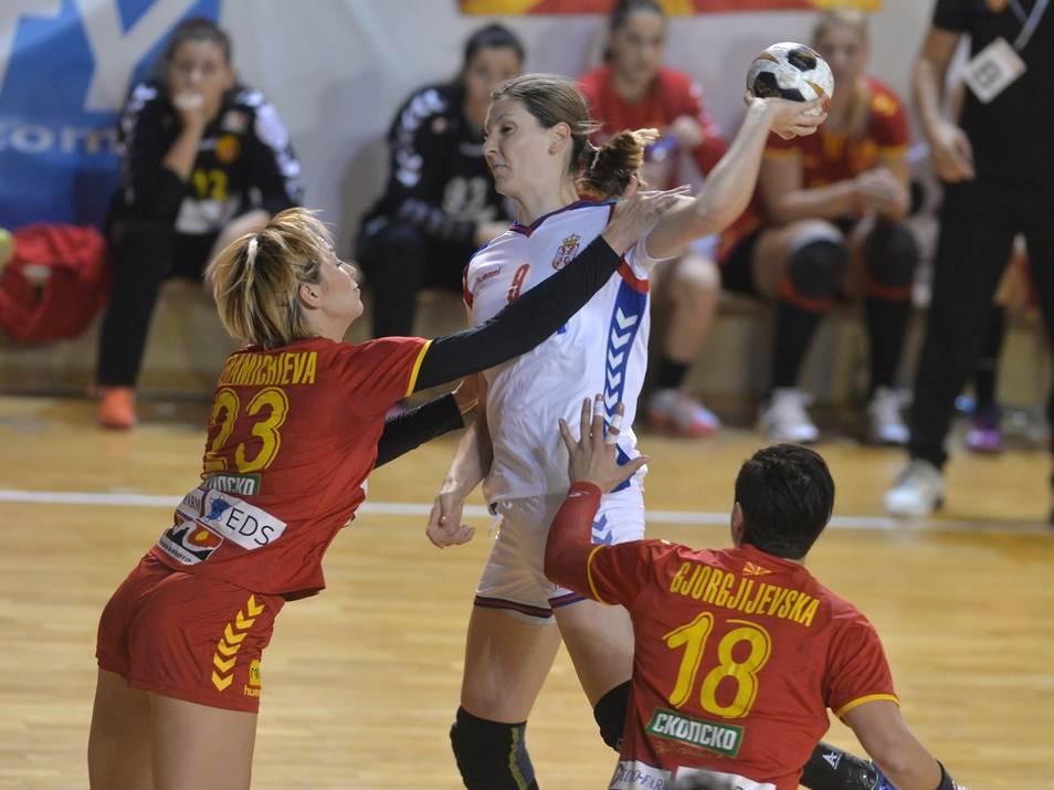 Jelena Lavko rukometašica Srbije