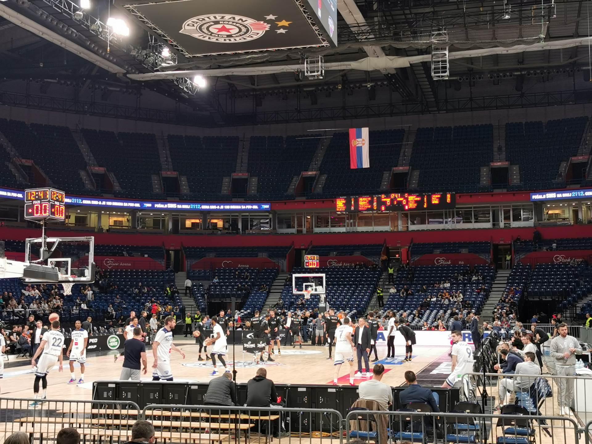 Partizan, arena