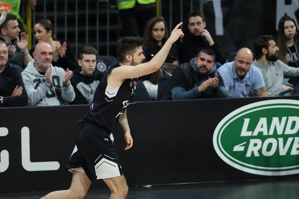 Rade Zagorac, KK Partizan