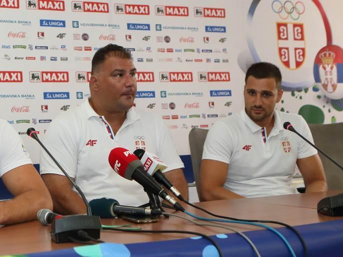 Dejan Savić i Miloš Ćuk