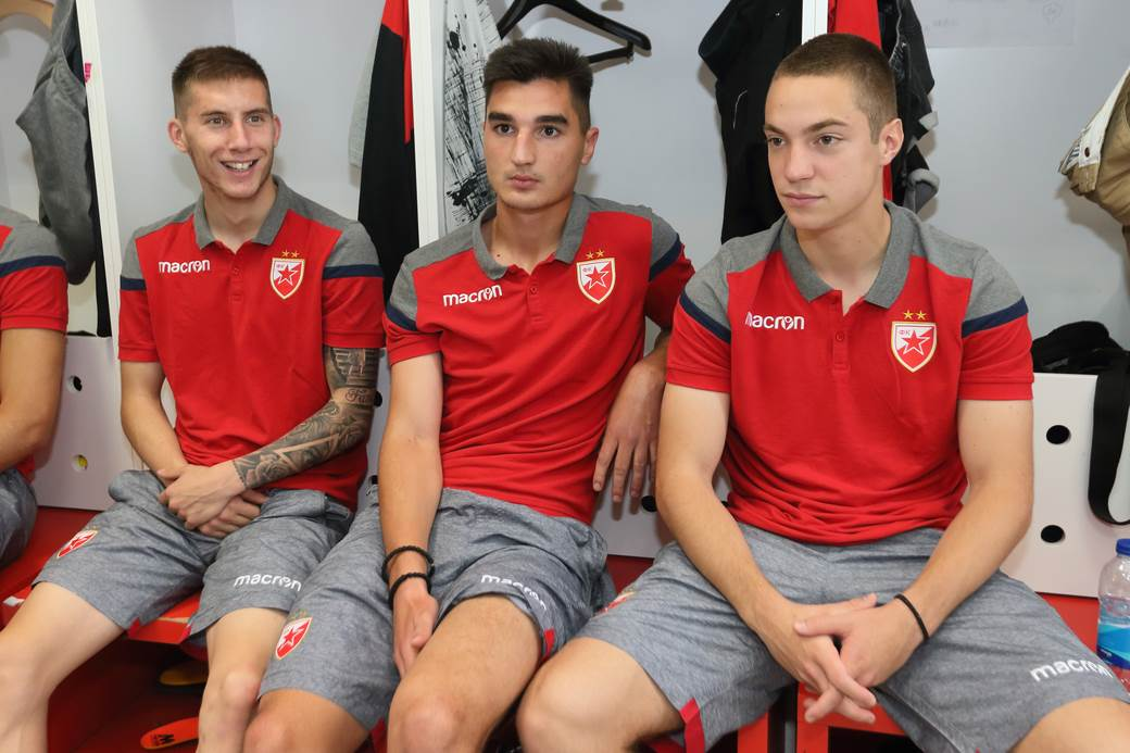 Veljko Nikolić, Željko Gavrić i Marko Konatar.