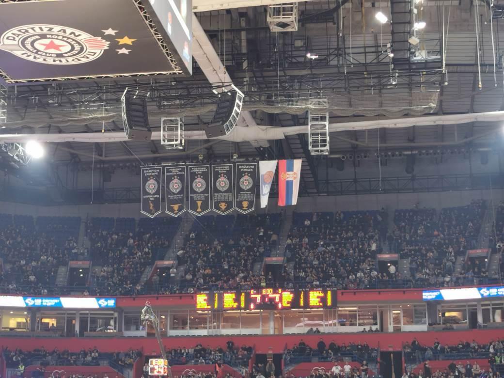 Partizan, KKP, Zastave Partizan