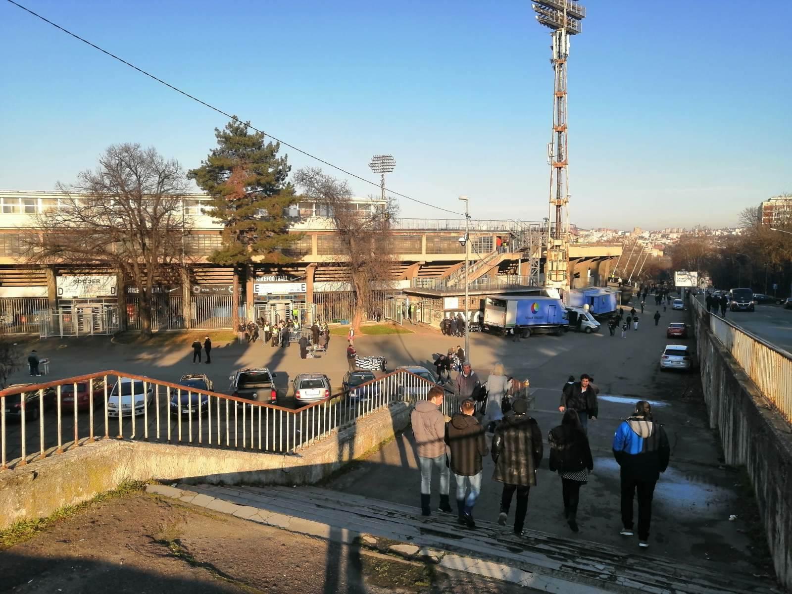 Humska, stadion Partizana