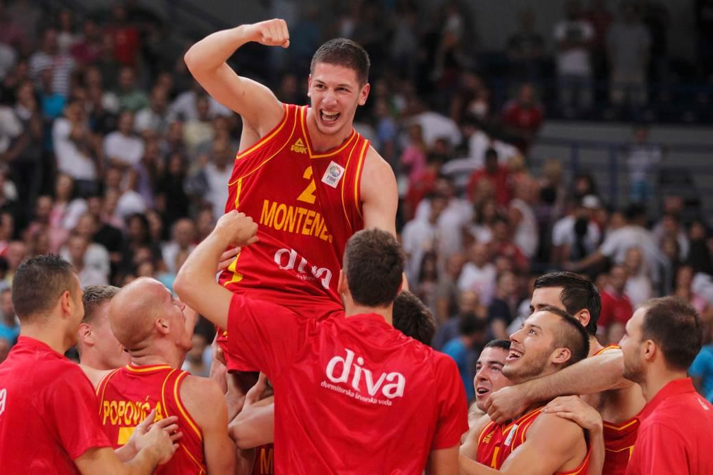 crna gora, košarkaši, nikola ivanović