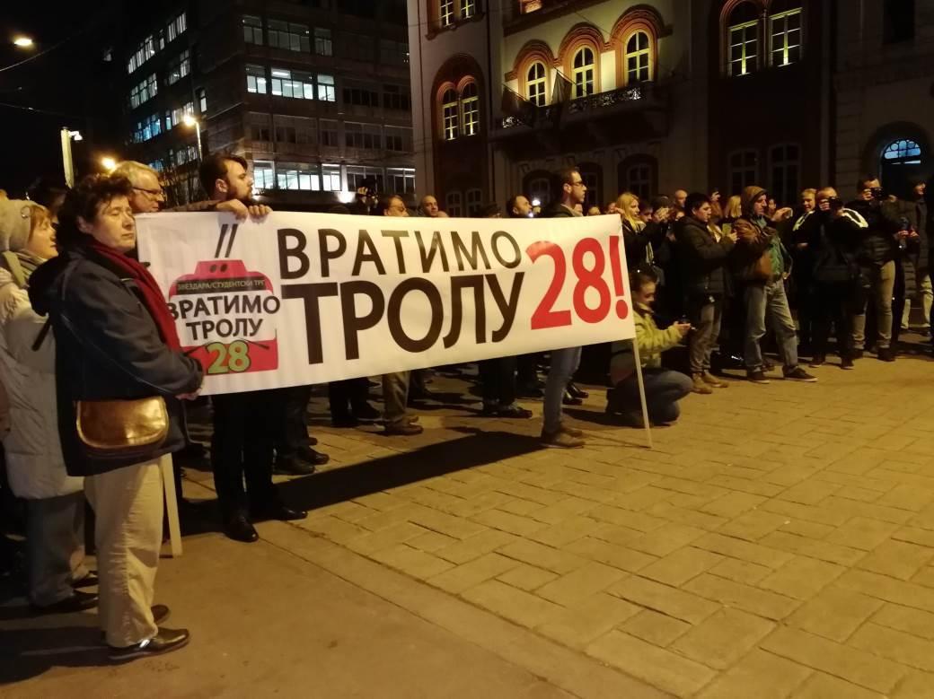 "Protest ""Vratimo trolu 28"""