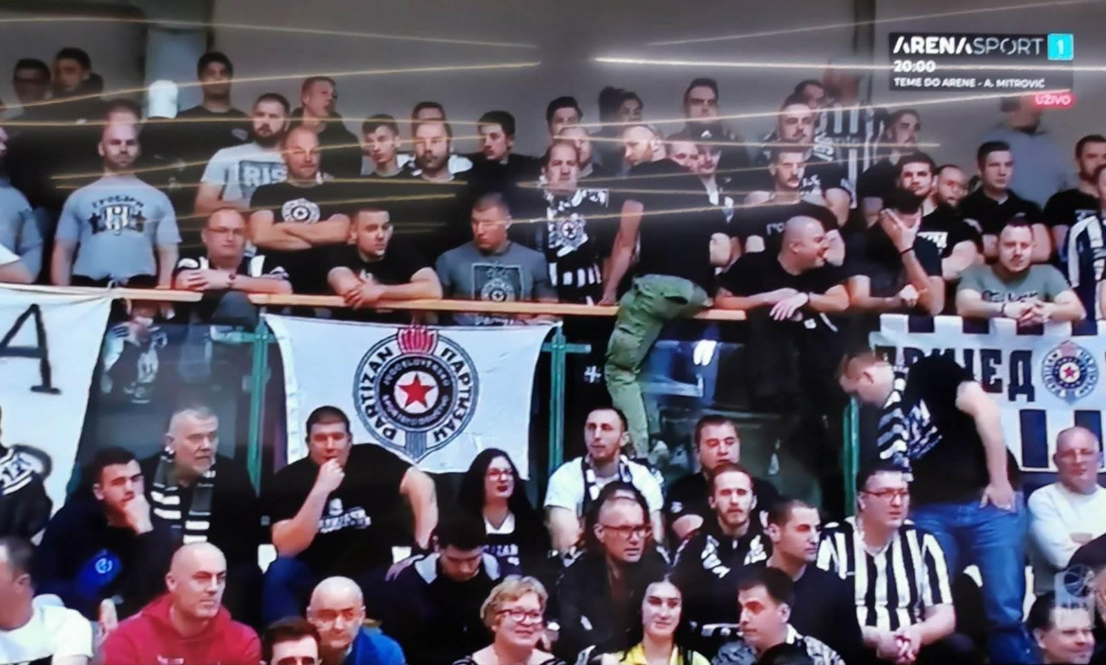 Partizan i u Sloveniji ima podršku