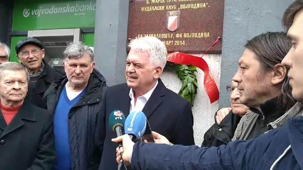 """Nek je našoj Voši srećan rođendan!"", rekao je predsednik Vojvodine."