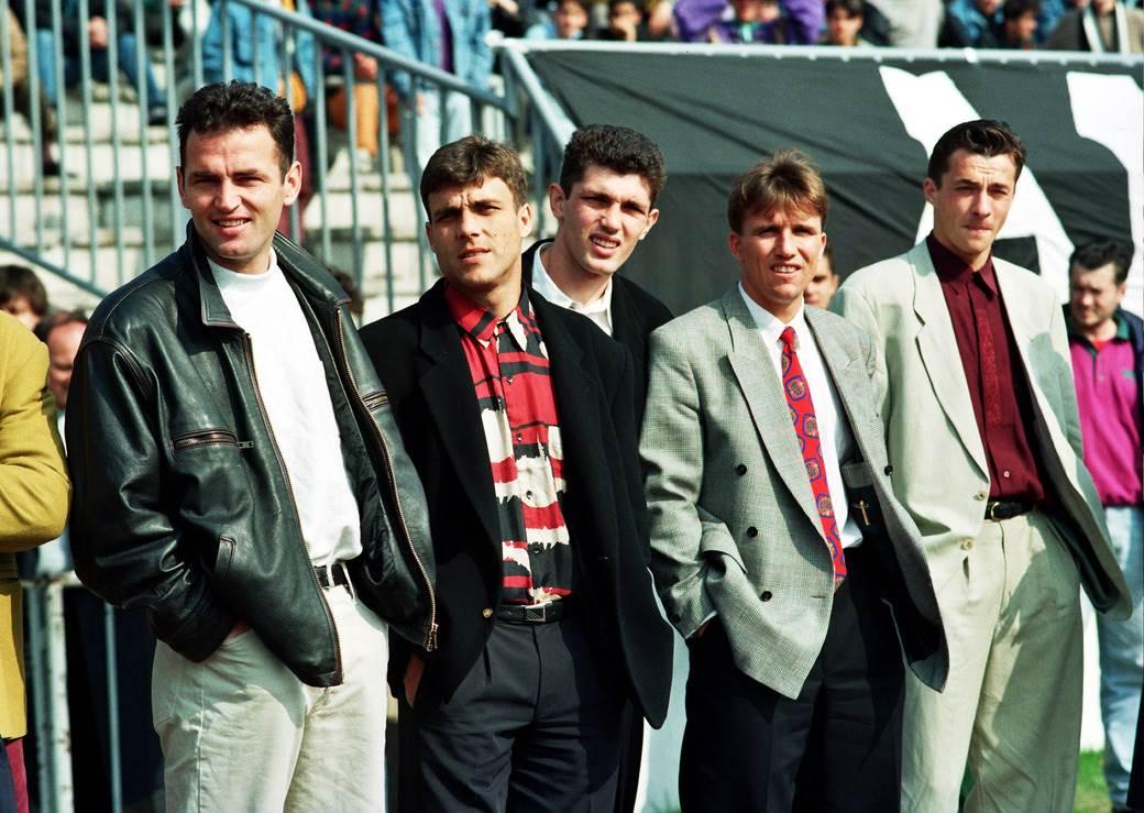 Budimir Vujačić, Goran Pandurović, Gordan petrić, Vujadin Stanojković, Slaviša Jokanović