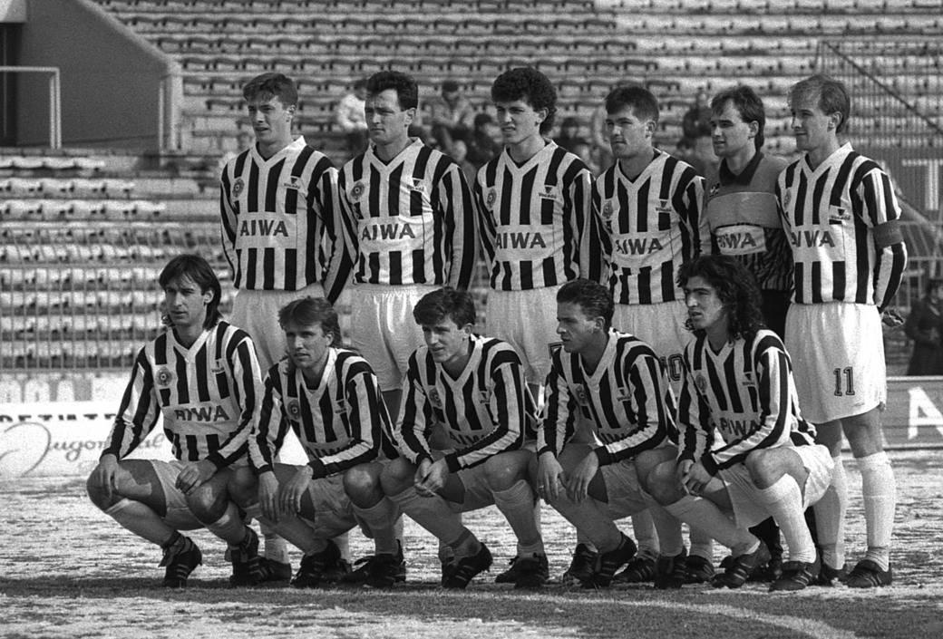 Partizanov tim (februar 1991. godine)