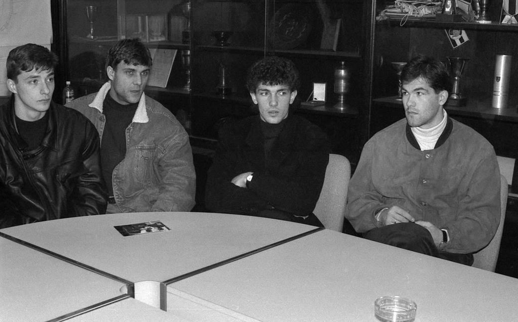 Slaviša Jokanović, Goran Pandurović, Gordan Petrić, Josip Višnjić