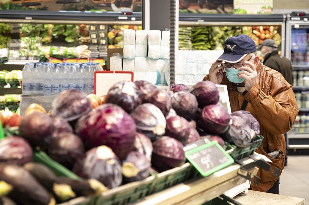 penzioneri koronavirus korona virus kupovina prodavnica
