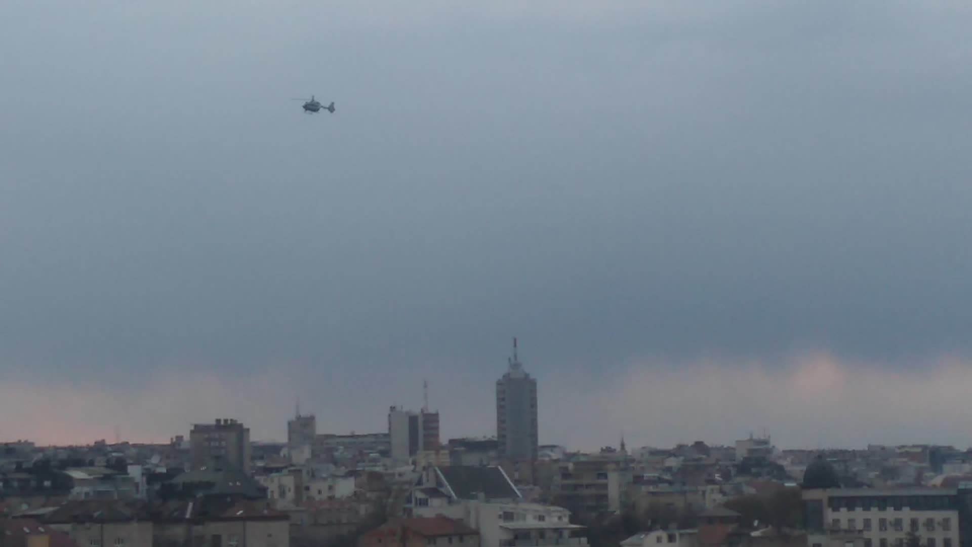 Helikopteri iznad Beograda (INFO)