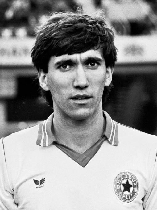 Prvi napadač Hajduka, Zlatko Vujović