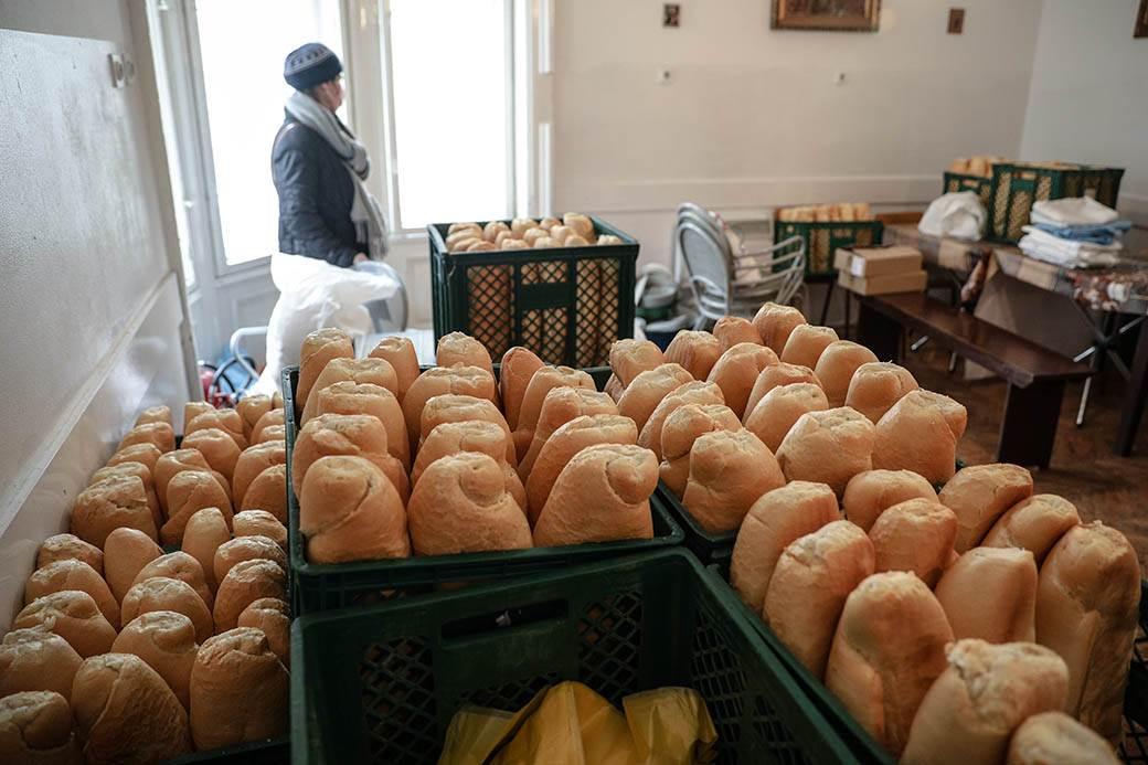 hleb pekara vekna hleba namirnice proizvodnja