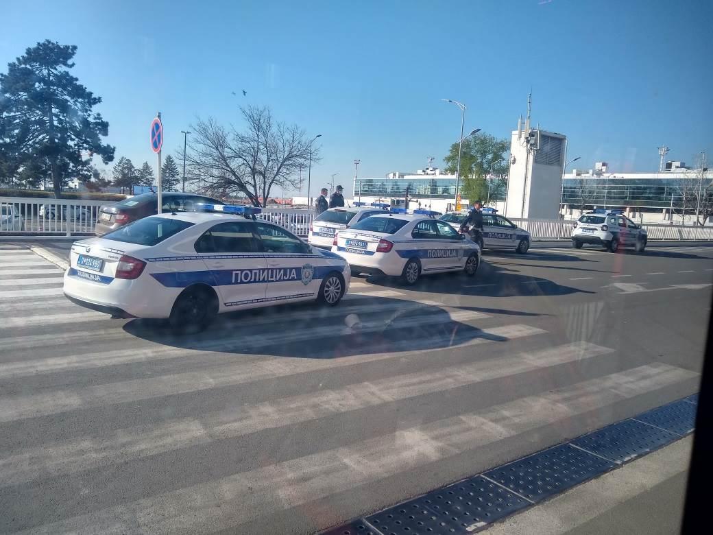 policija aerodrom nikola tesla policajci koronavirus