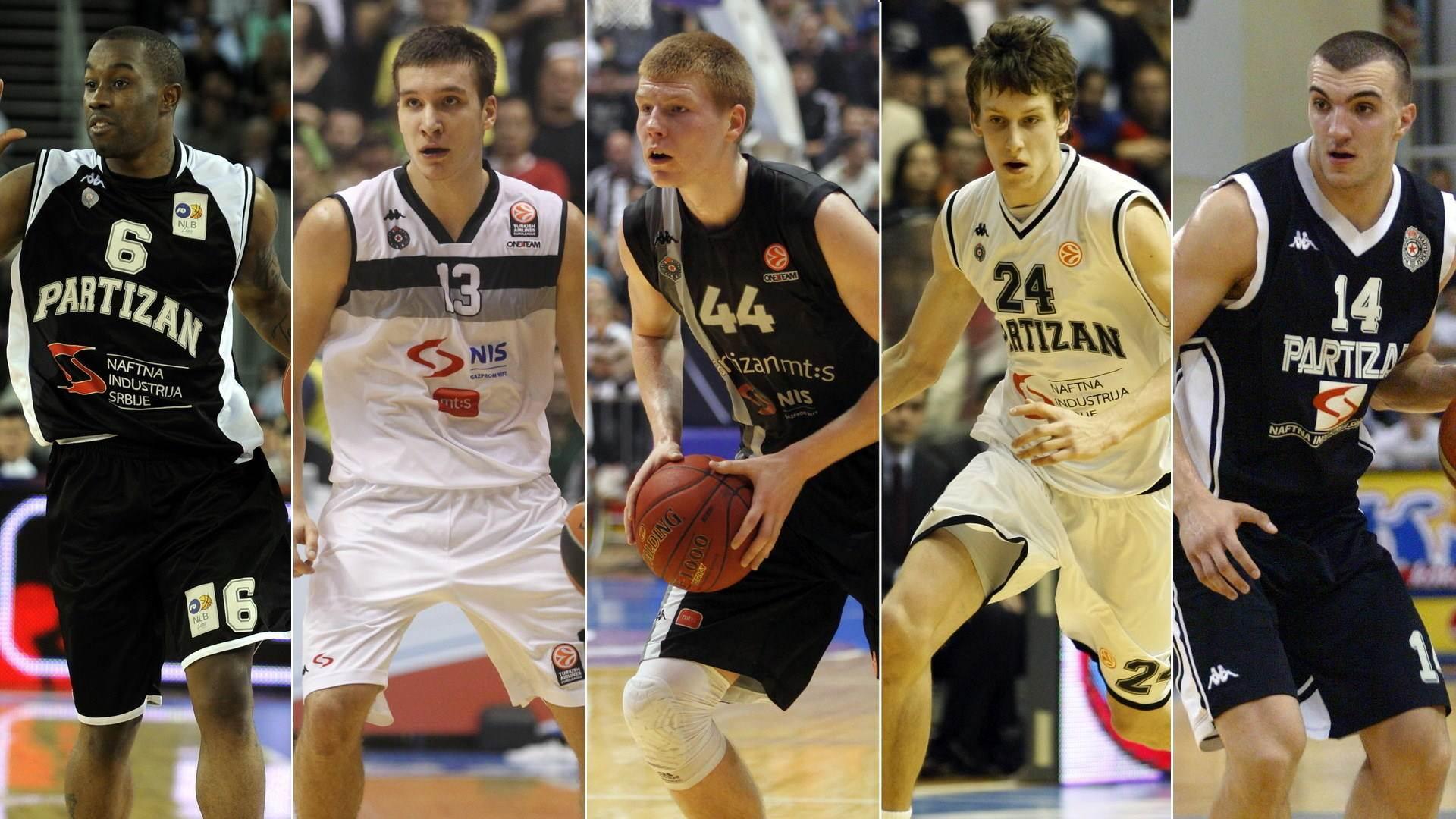 KK Partizan, KKP, Bo Mekejleb, Bogdan Bogdanović, Davis Bertans, Jan Veseli, Nikola Peković