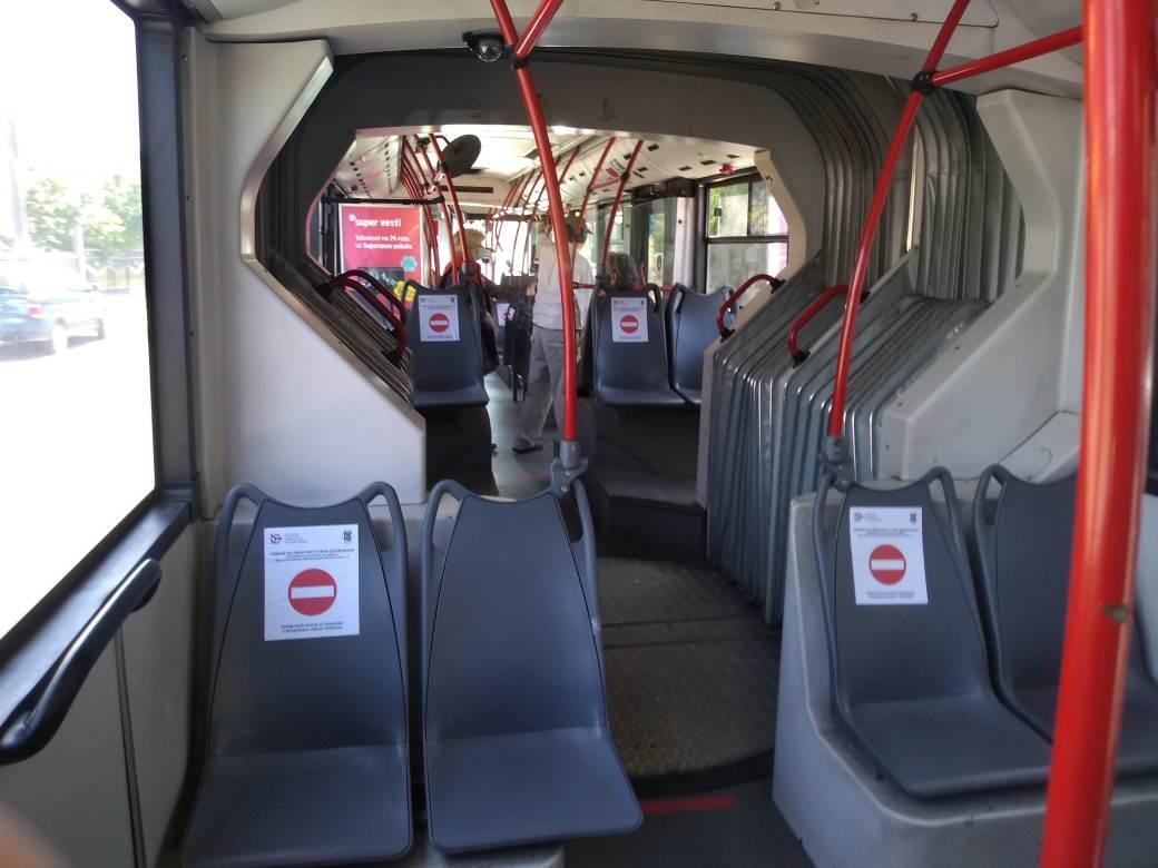 Autobus upozorenje korona virus