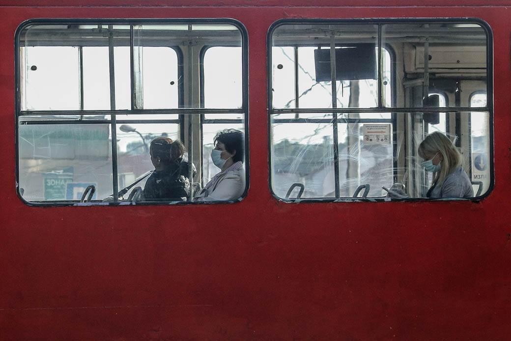 gsp gradski prevoz autobus trolejbus trola tramvaj putnici