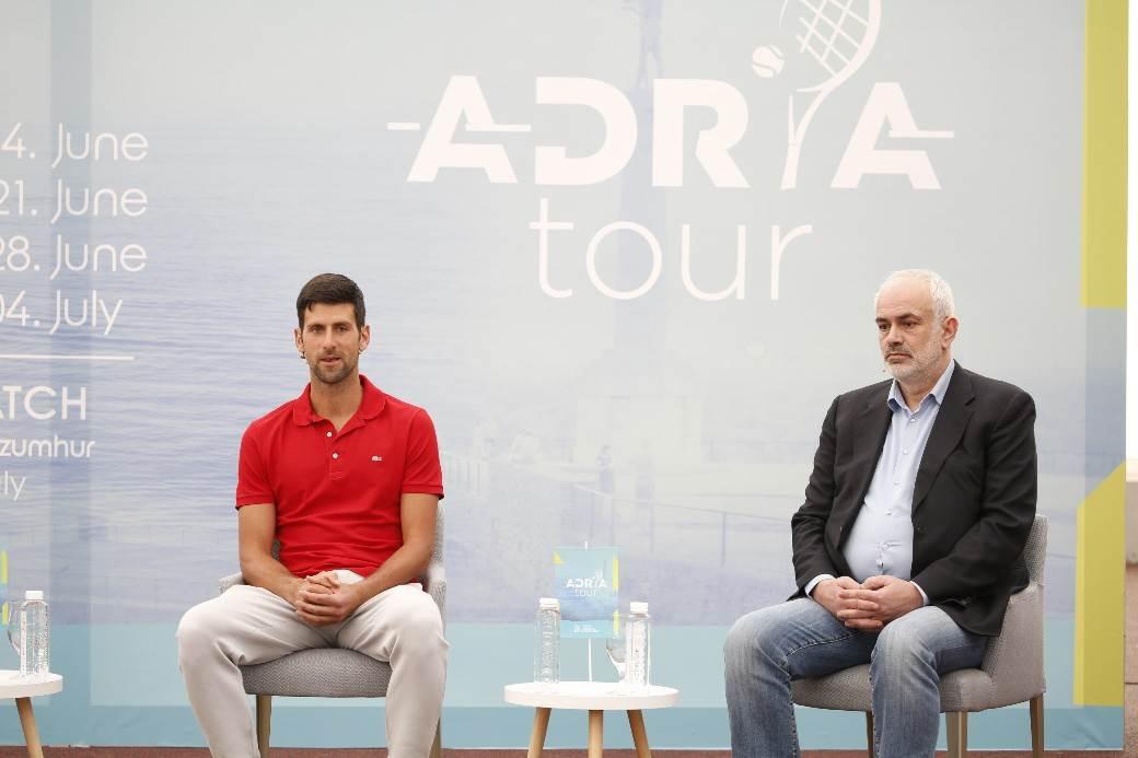 đoković novak djoković adria tour