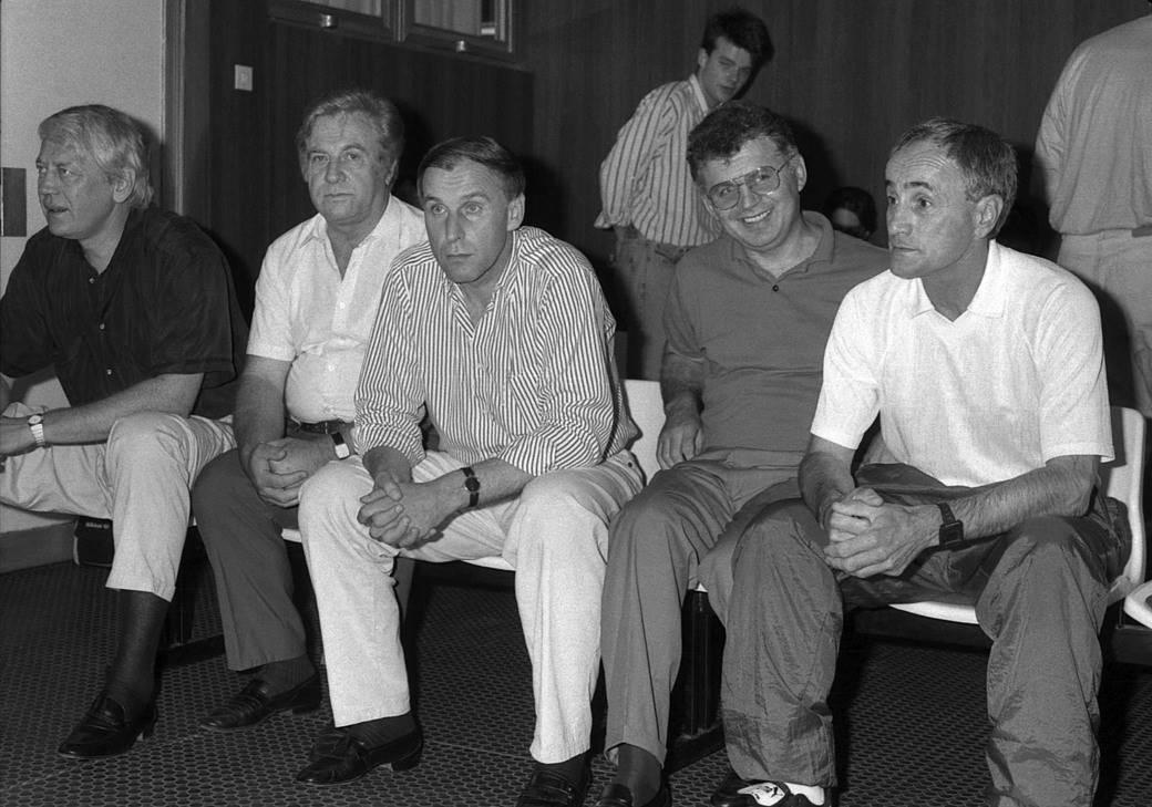 Vladimir Cvetković, Spiro Vuković, Dragan Džajić, Toza Mijailović, Vladica Popović