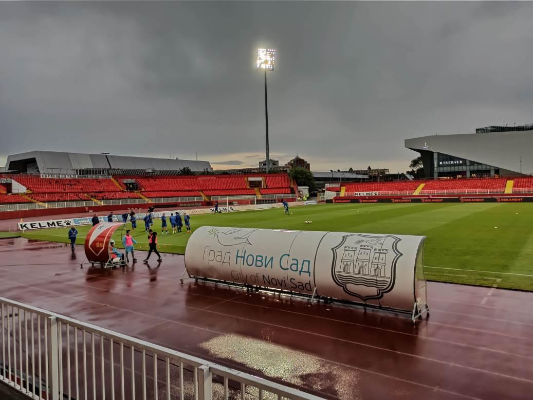 vojvodina, karađorđe, tribine, stadion