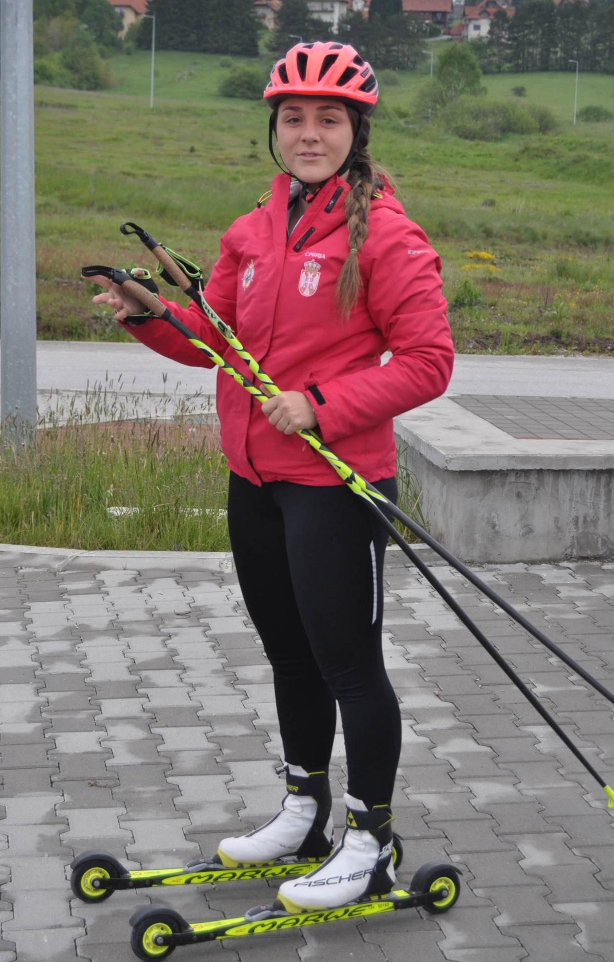 Anja Ilić, Zimske olimpijske igre, Peking 2022
