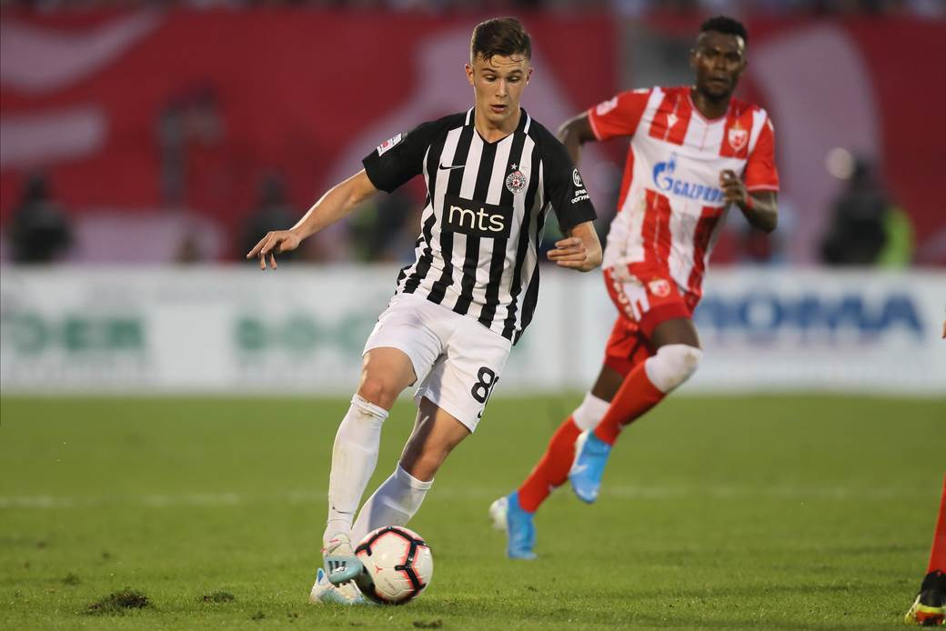 """Filip Stevanović, FK Partizan, """"večiti derbi"""""""
