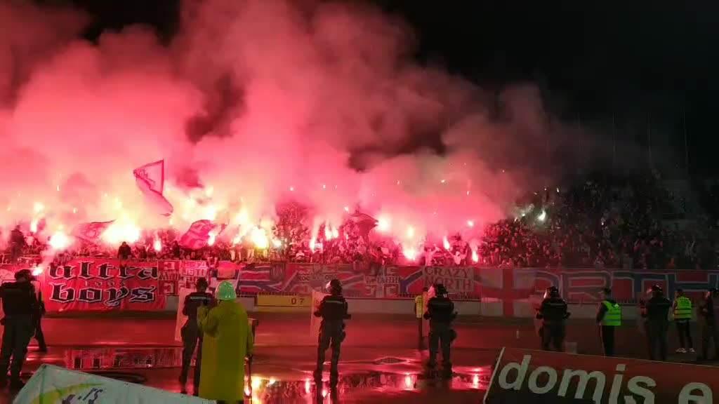 Bakljada delija 200. večiti derbi Kup Srbije