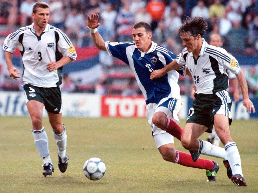 kovačević, fudbal, slovenija, jugoslavija, euro 2000