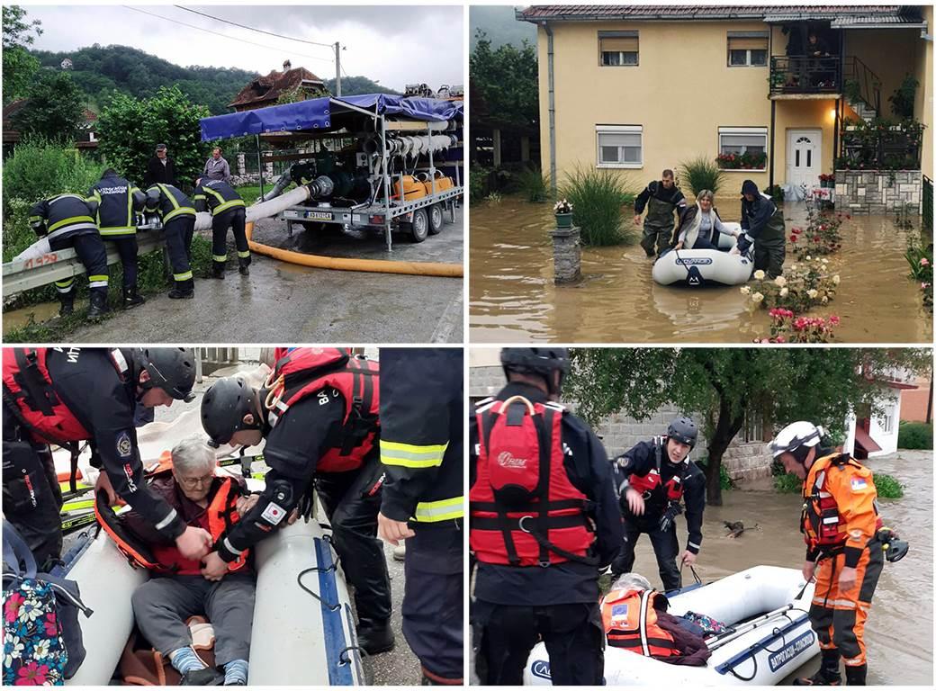 poplave poplava evakuacija spasioci