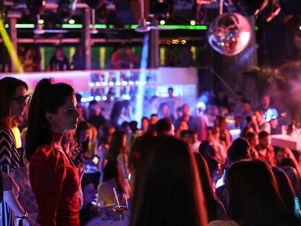 žurka, klub