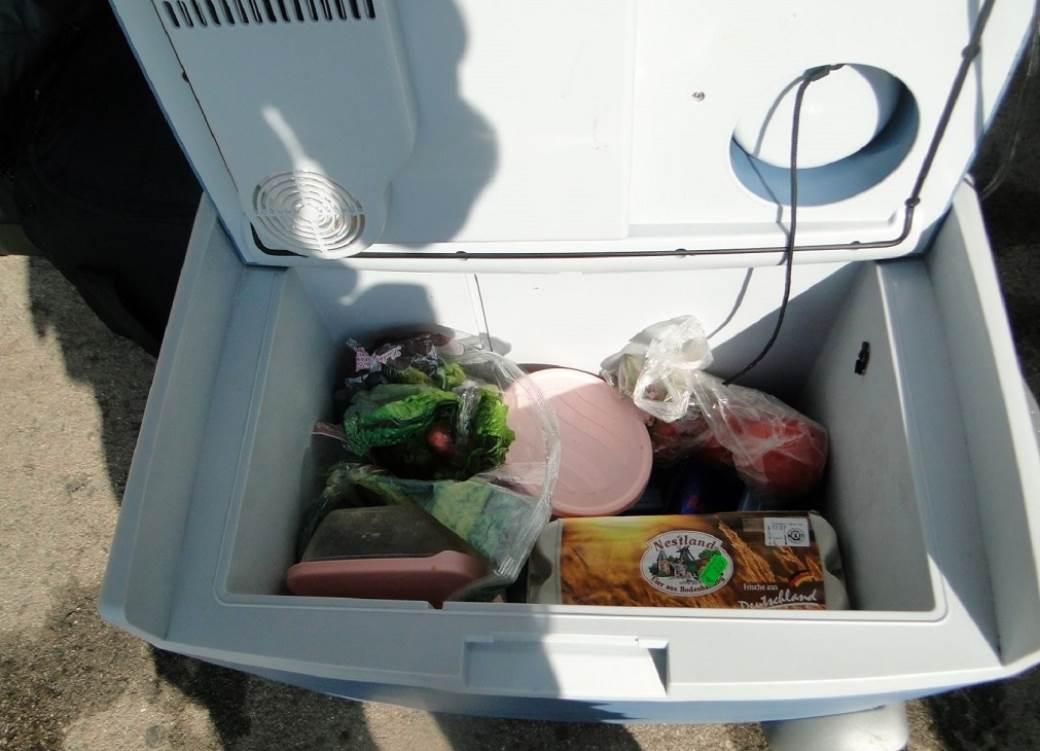 droga ručni frižider