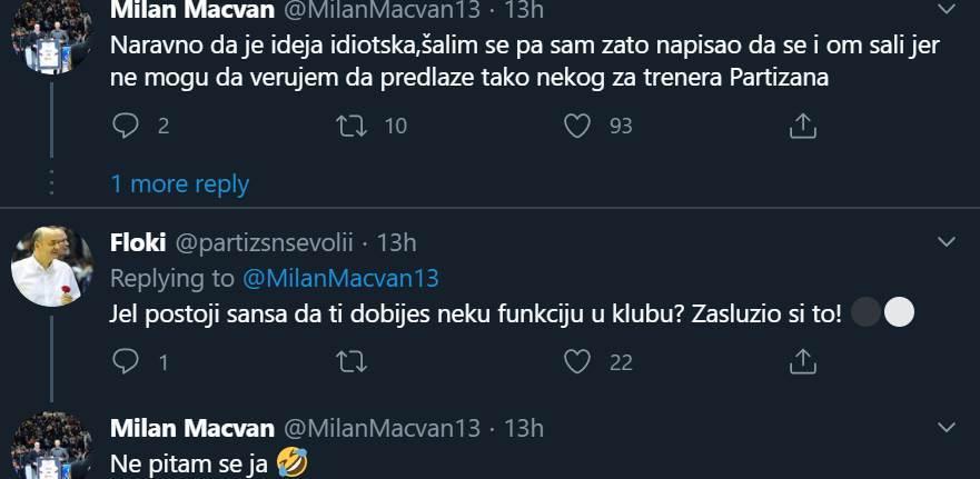 mačvan, tviter