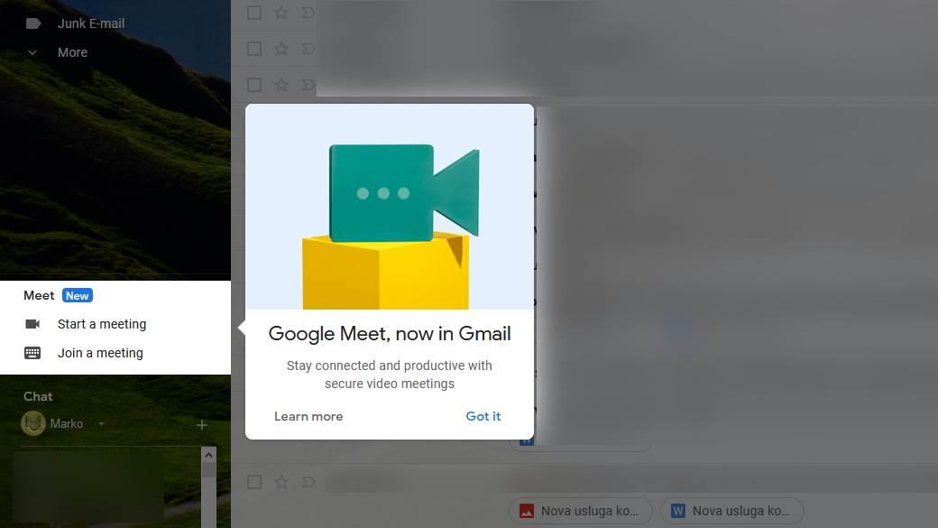 GMail nove opcije kako se koriste