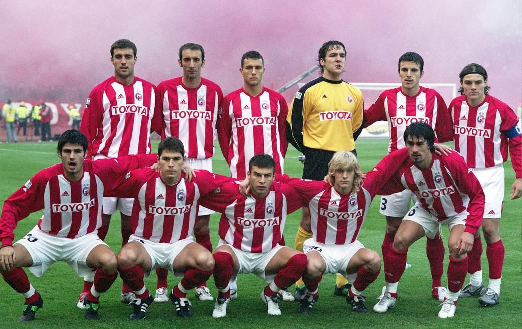 Nebojsa Joksimović, Dragan Mladenović, Bosko Janković, Vladimir Stojković, Aleksandar Luković, Nenad Kovačević, Milan Purović, Nikola Žigić, Milan Dudić, Dusan Basta i Milan Biševac, Crvena zvezda - Partizan, 2005.