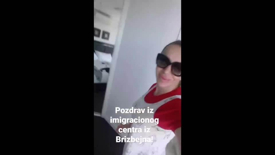 Romana Panić - Pozdrav iz imigracionog centra iz Brizbejna