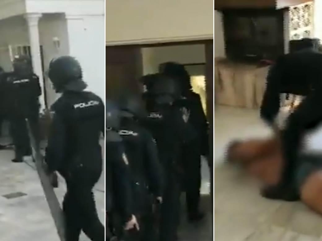 policija, hapšenje