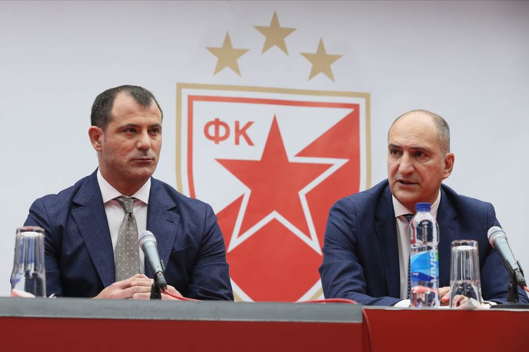 Dejan Stanković i Mitar Mrkela.