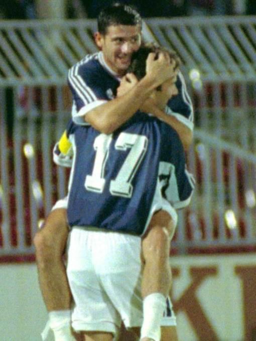 Dejan Stanković i Dejan Savićević