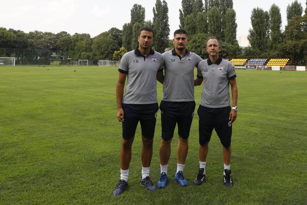 Rendulić sa saradnicima Goranom Vukovićem i Zoranom Kostićem