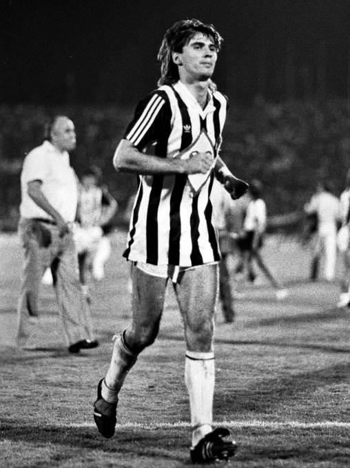 Vlado Čapljić u Partizanu, 1985.