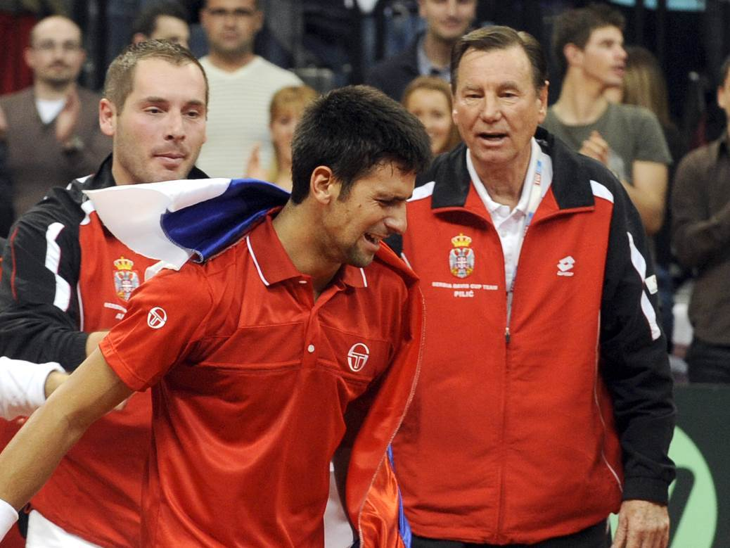 Novak Đoković Nikola Pilić