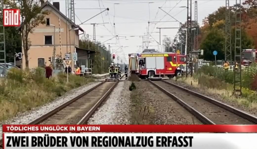 nesreća, voz, šine