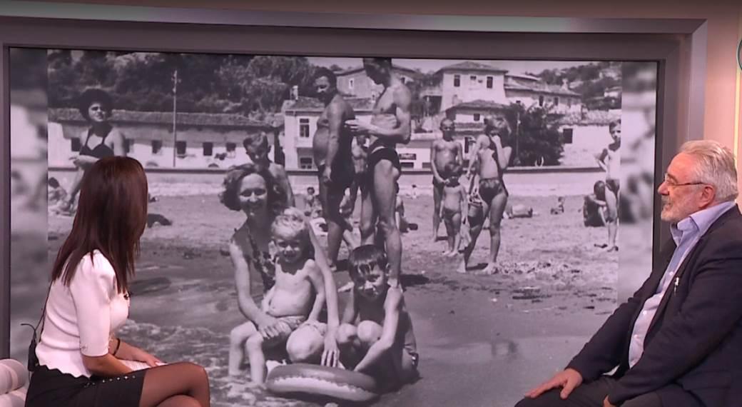Nestorović sa roditeljima u Biogradu na moru