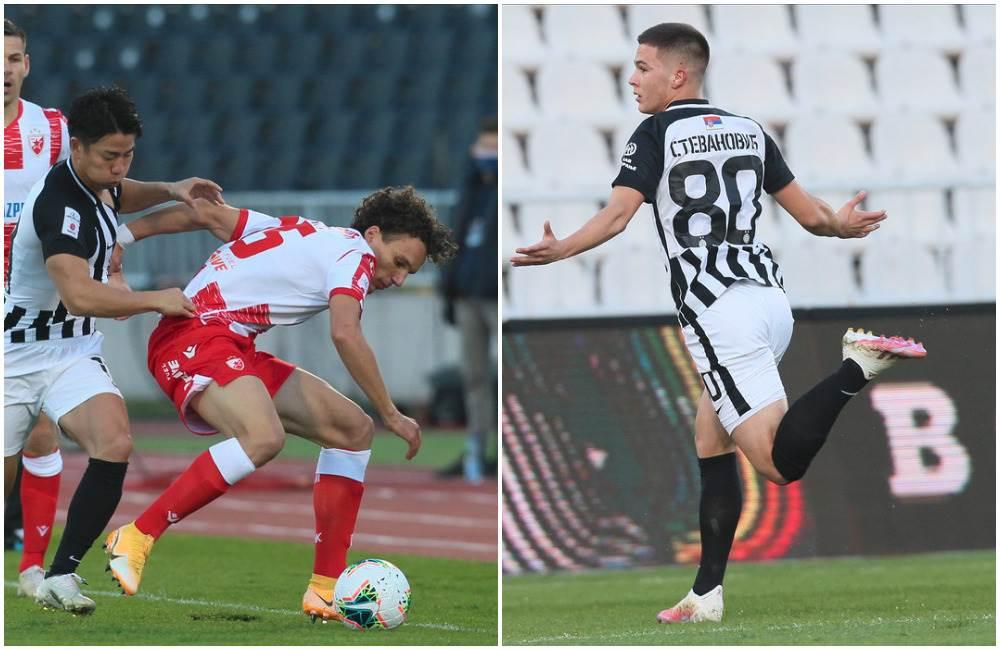 Strahinja Eraković greška derbi Filip Stevanović gol večiti derbi Partizan
