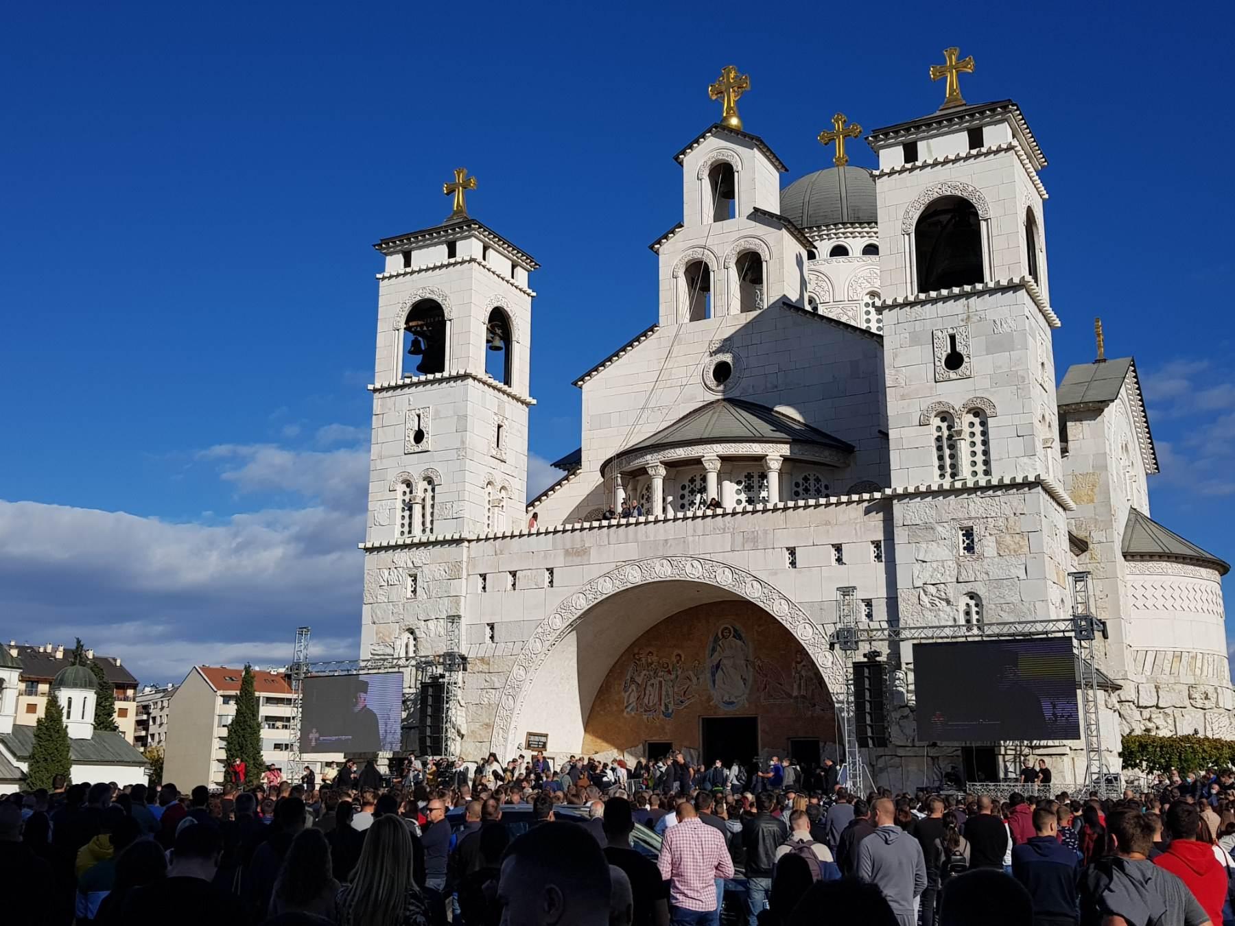 Hram Podgorica smrt Amfilohije Radović