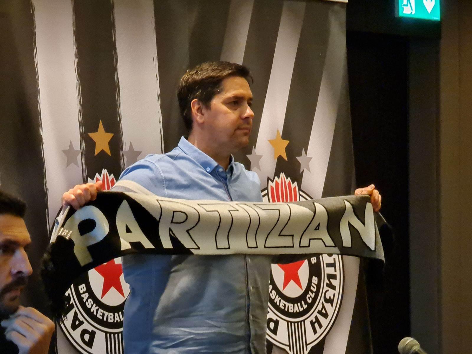 Sašo Filipovski - novi trener Partizana.