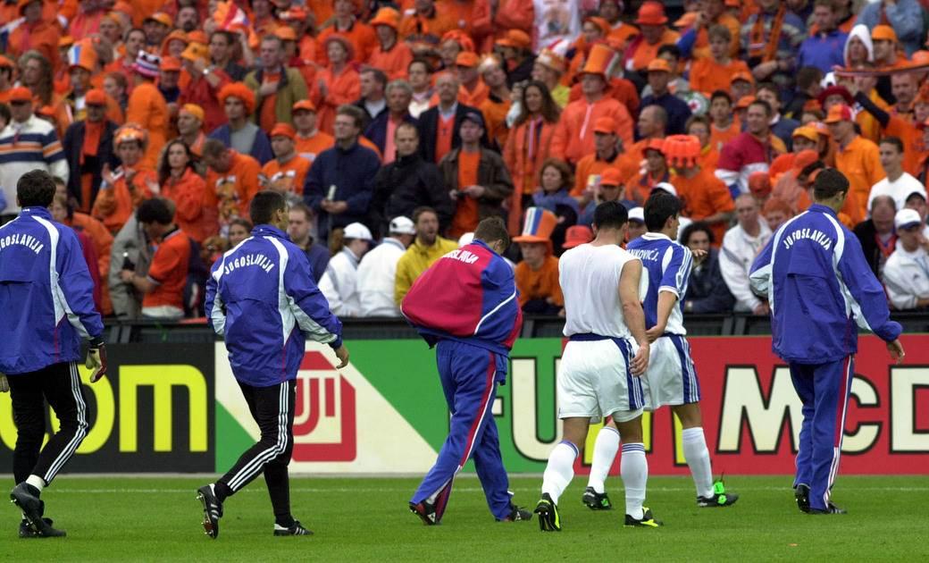 Jugoslavija je doživela debakl na EURO2000.