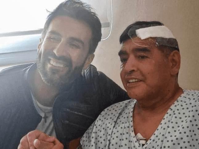 Luke i Maradona u bolnici posle operacije
