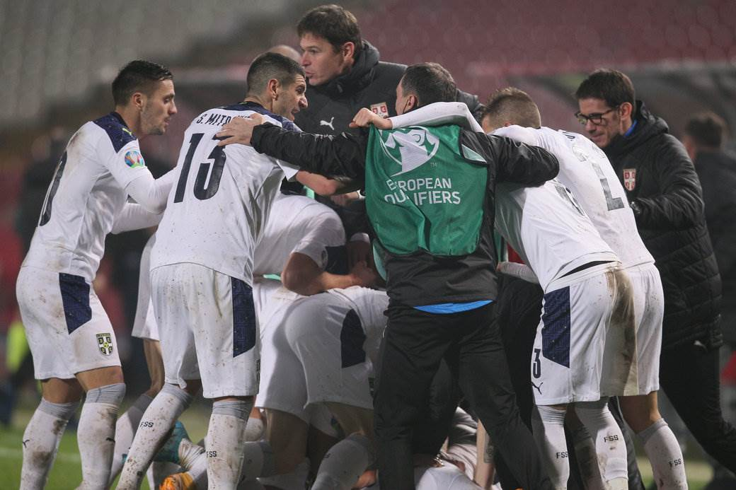 FOOTBALL;SERBIA;SCOTLAND;UEFA EUROPEAN CHAMPIONSHIP;EURO